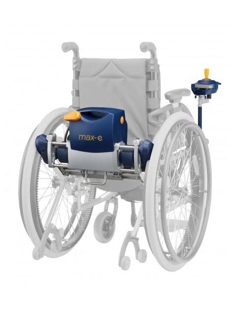 Propulsore per la trasformazione della carrozzina manuale in elettronica MAX-E