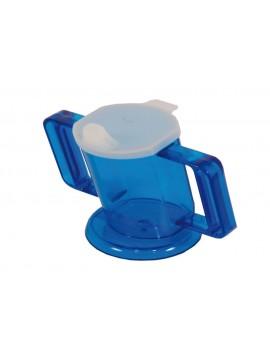 Bicchiere con beccuccio e impugnature