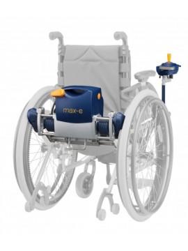 Propulsore per la trasformazione della carrozzina manuale in elettronica