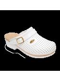 Zoccolo Clog Supercomfort Bianco Sholl