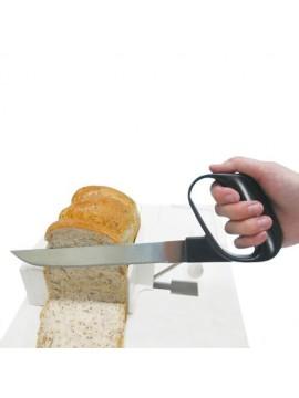 Coltello impugnatura angolata per pane